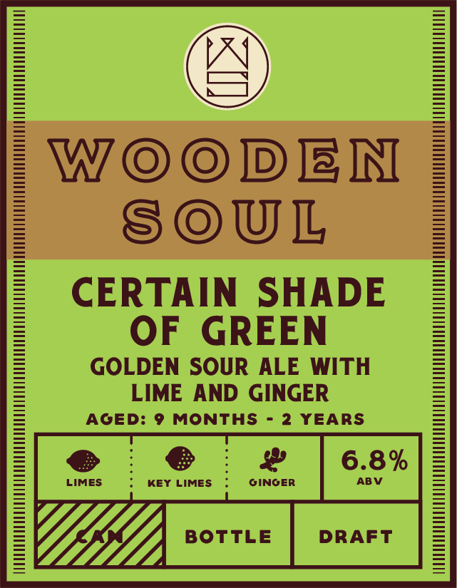 Indeed Brewing Co. INDEED BREWING WOODEN SOUL CERTAIN SHADE OF GREEN 500ML