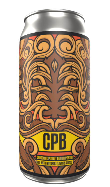 Lupulin Brewing Company LUPULIN BREWING CHOCOLATE PEANUT BUTTER PORTER 4 PK CANS