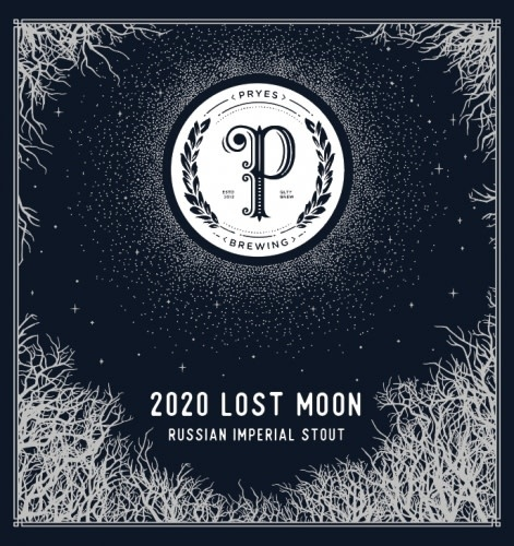 PRYES BREWING 2020 LOST MOON IMPERIAL STOUT 750ML