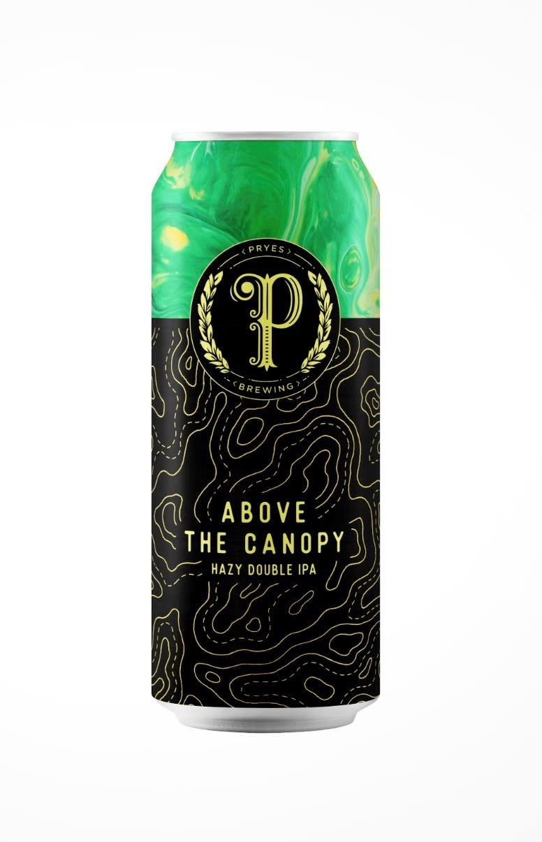 Pryes Brewing PRYES BREWING CANOPY CARTOGRAPHER SERIES DOUBLE IPA 4 PK CANS