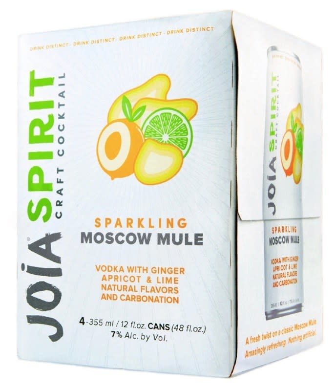 JOIA SPIRIT SPARKLING MOSCOW MULE 4 PK CANS