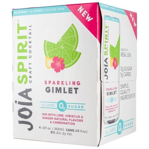JOIA SPIRIT SPARKLING GIMLET 4 PK CANS