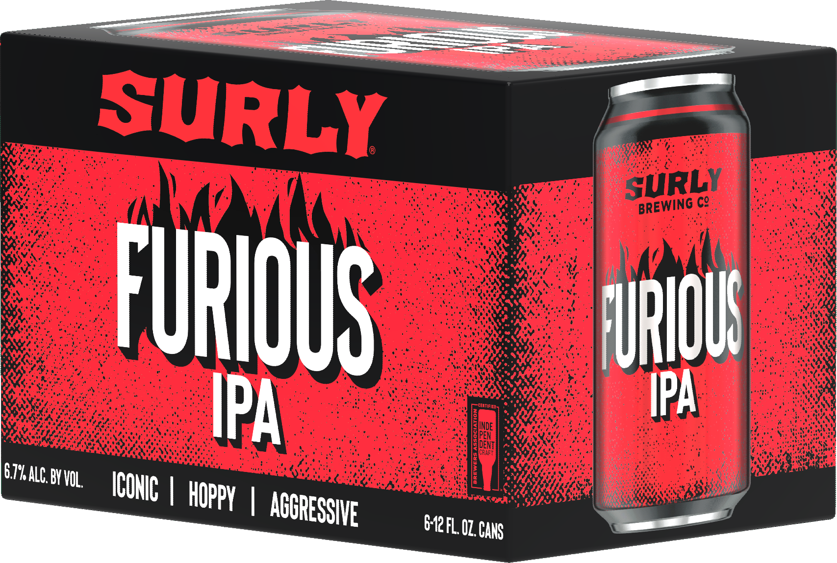 Surly Brewing Co. SURLY BREWING FURIOUS IPA 6 PK CANS
