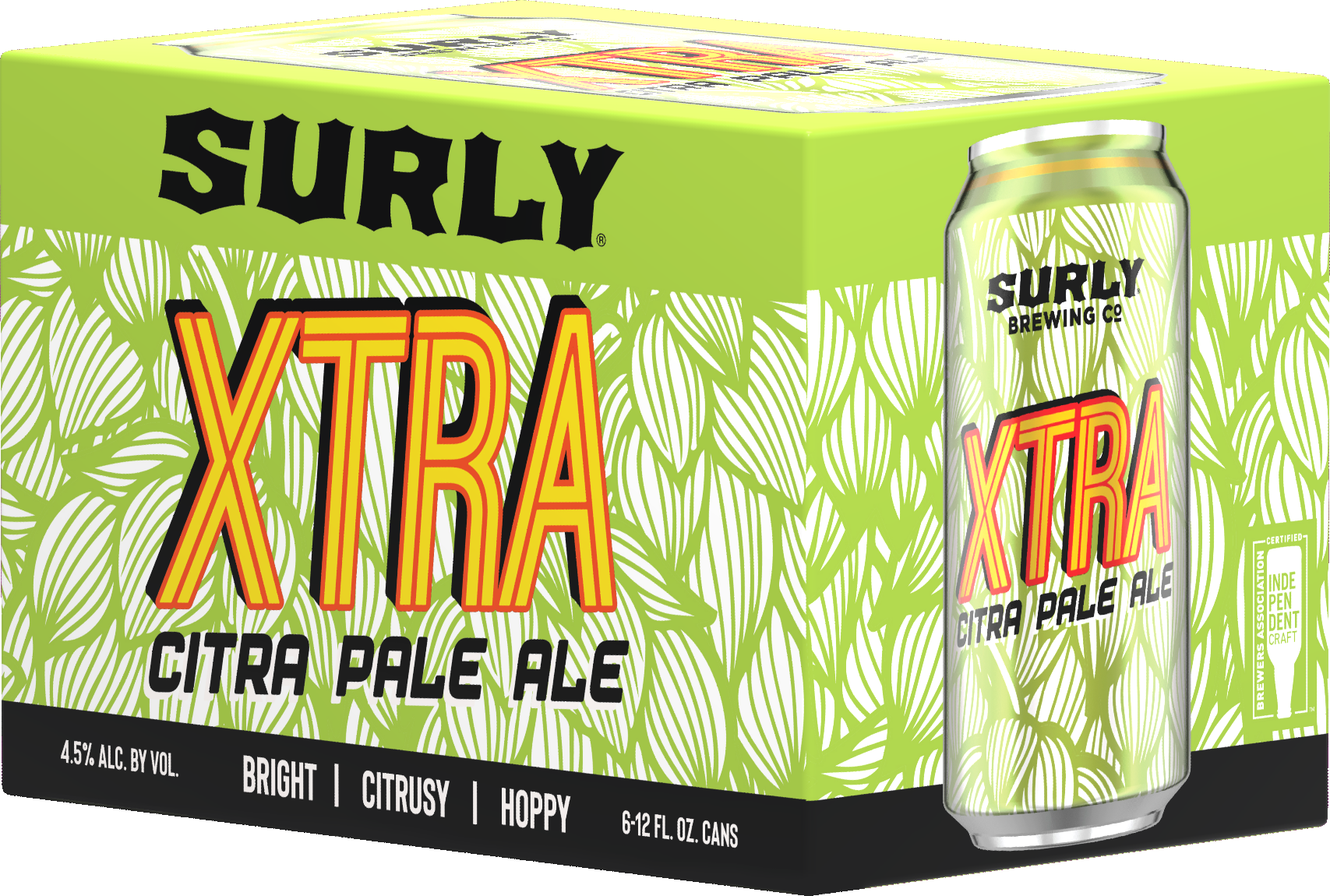 Surly Brewing Co. SURLY BREWING XTRA CITRA HOPPY PALE ALE 6 PK CAN
