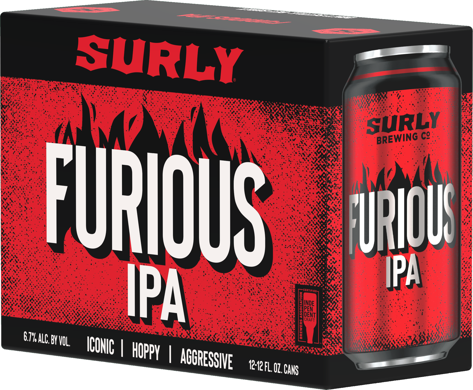 Surly Brewing Co. SURLY BREWING FURIOUS IPA 12 PK CANS