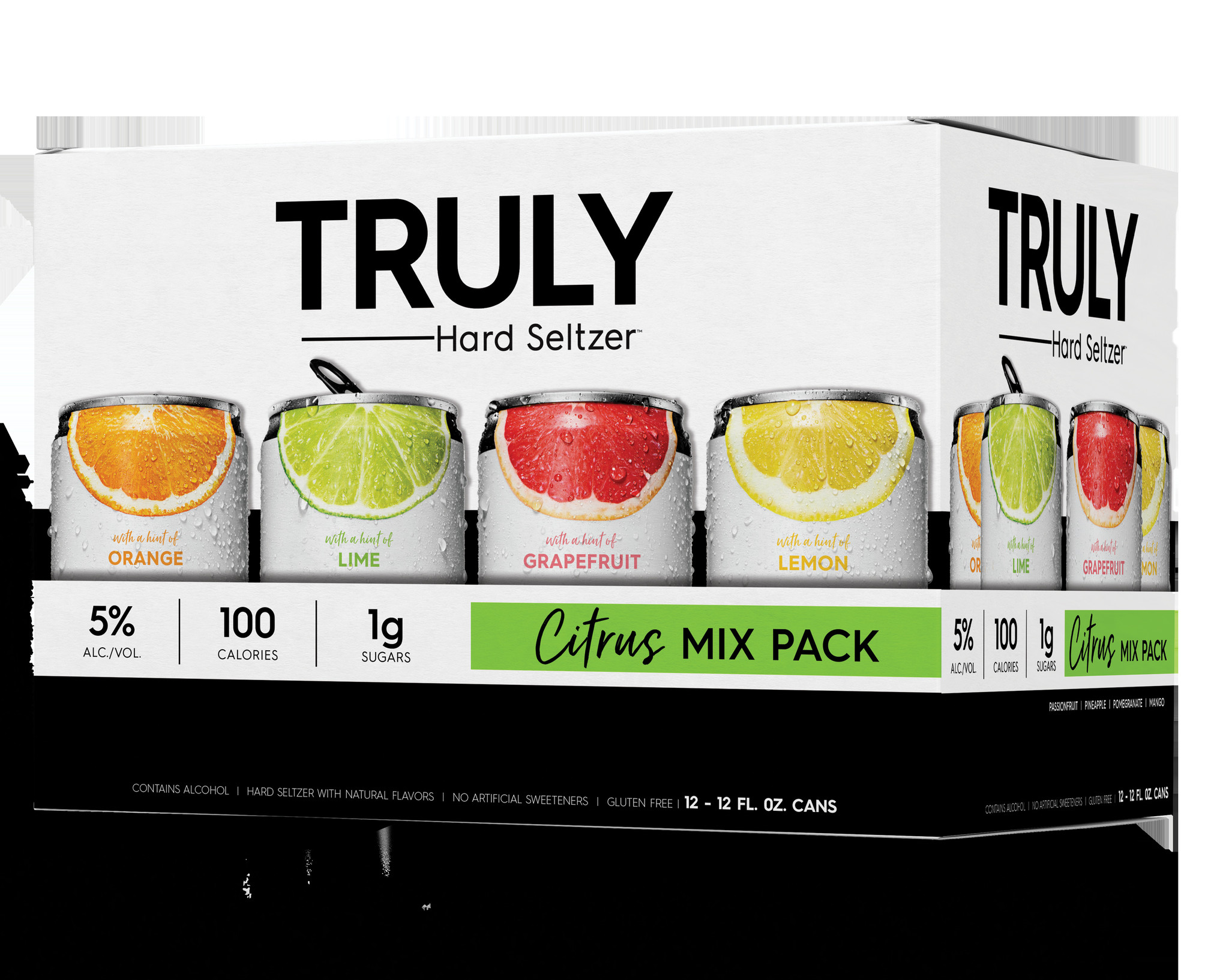 Truly Hard Seltzer TRULY SPIKED CITRUS MIX PACK 12 PK CAN