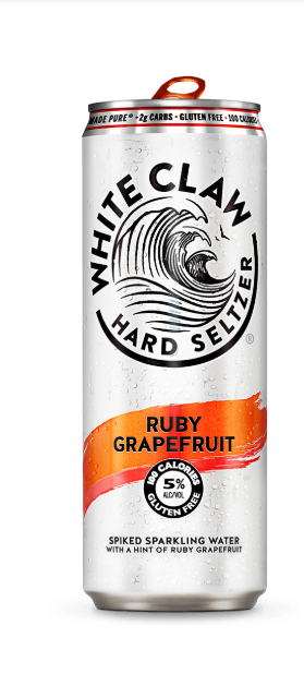 White Claw WHITE CLAW GRAPEFRUIT 6 PK CANS