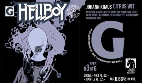 Gigantic Brewing Company GIGANTIC BREWING HELLBOY JOHANN KRAUSS CITRUS WIT 500ML