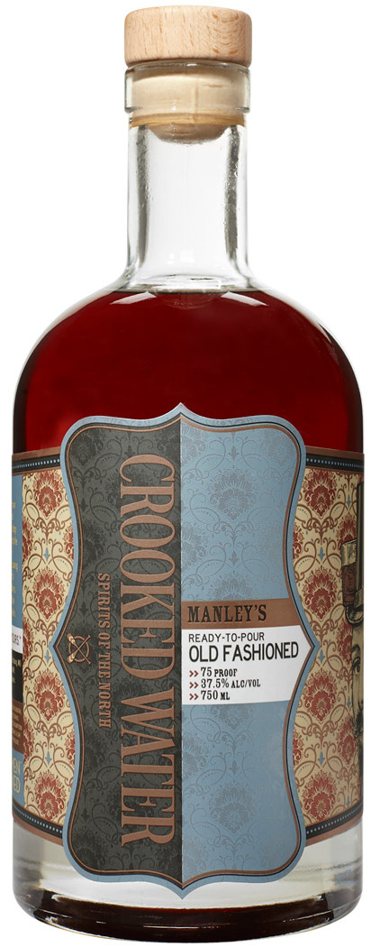 Crooked Water CROOKED WATER MANLEY'S OLD FASHIONED 750ML