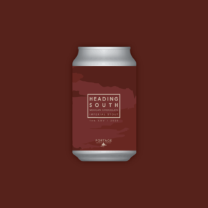 Portage Brewing PORTAGE BREWING HEADING SOUTH MOLE PASTRY STOUT 750ML CROWLER