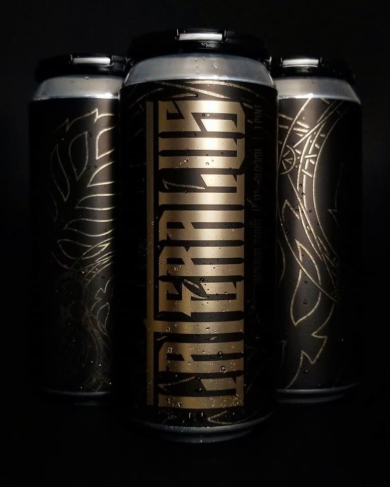 Lupulin Brewing Company LUPULIN BREWING LATERALUS IMPERIAL STOUT 4 PK CANS