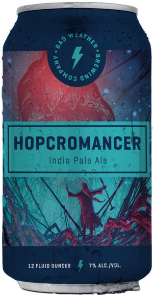 Bad Weather Brewing Company BAD WEATHER HOPCROMANCER IPA 6 PK CAN