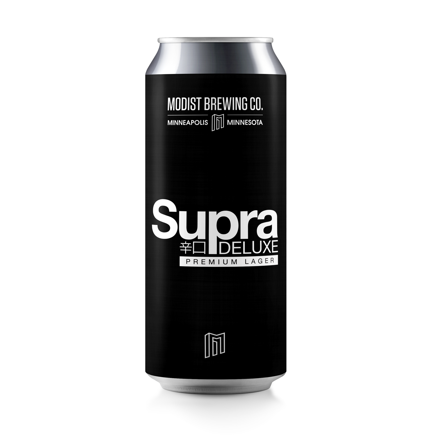 Modist Brewing Co. MODIST BREWING SUPRA DELUXE LAGER 4 PK CANS