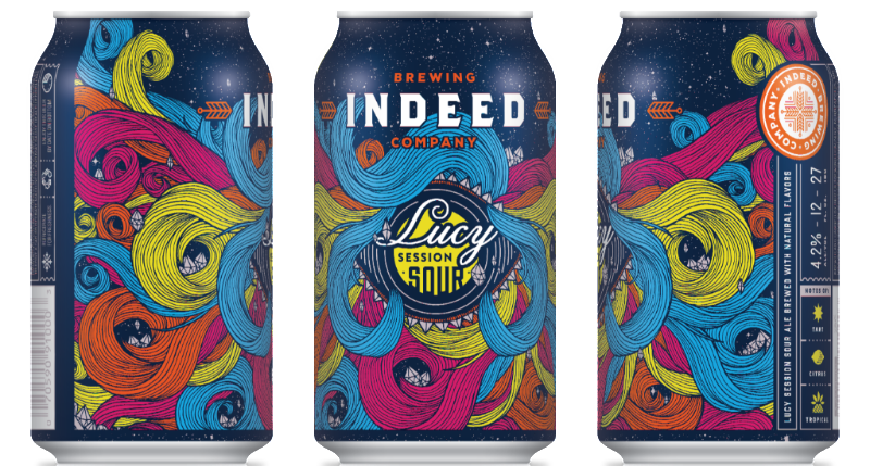 Indeed Brewing Co. INDEED BREWING LUCY SESSION SOUR ALE 6 PK CAN