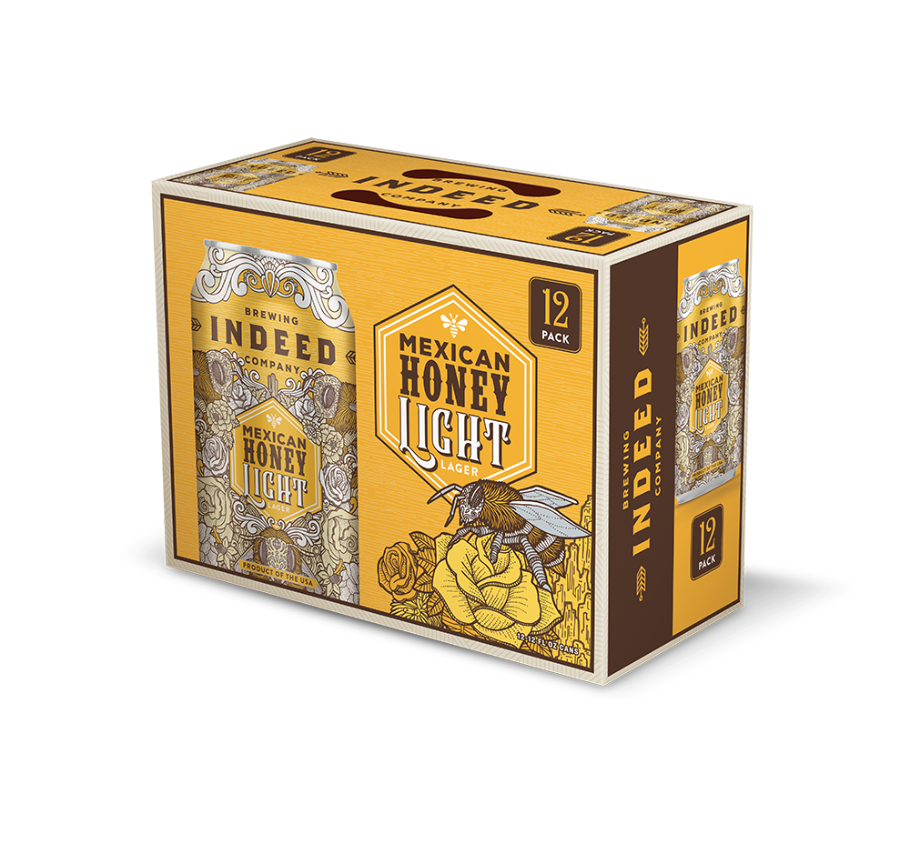 Indeed Brewing Co. INDEED BREWING  MEXICAN HONEY LIGHT LAGER 12 PK CANS