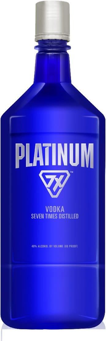 PLATINUM 7X VODKA 1.75 LITER