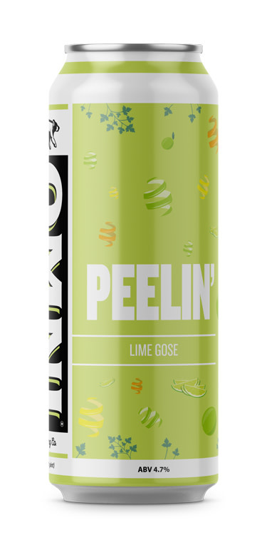 OMNI Brewing Co. OMNI BREWING PEELIN LIME GOSE 4 PK CANS