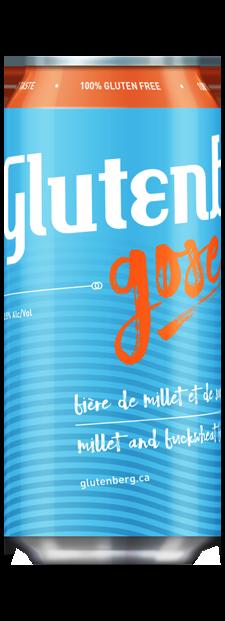 Glutenberg GLUTENBERG GOSE 4 PK CANS