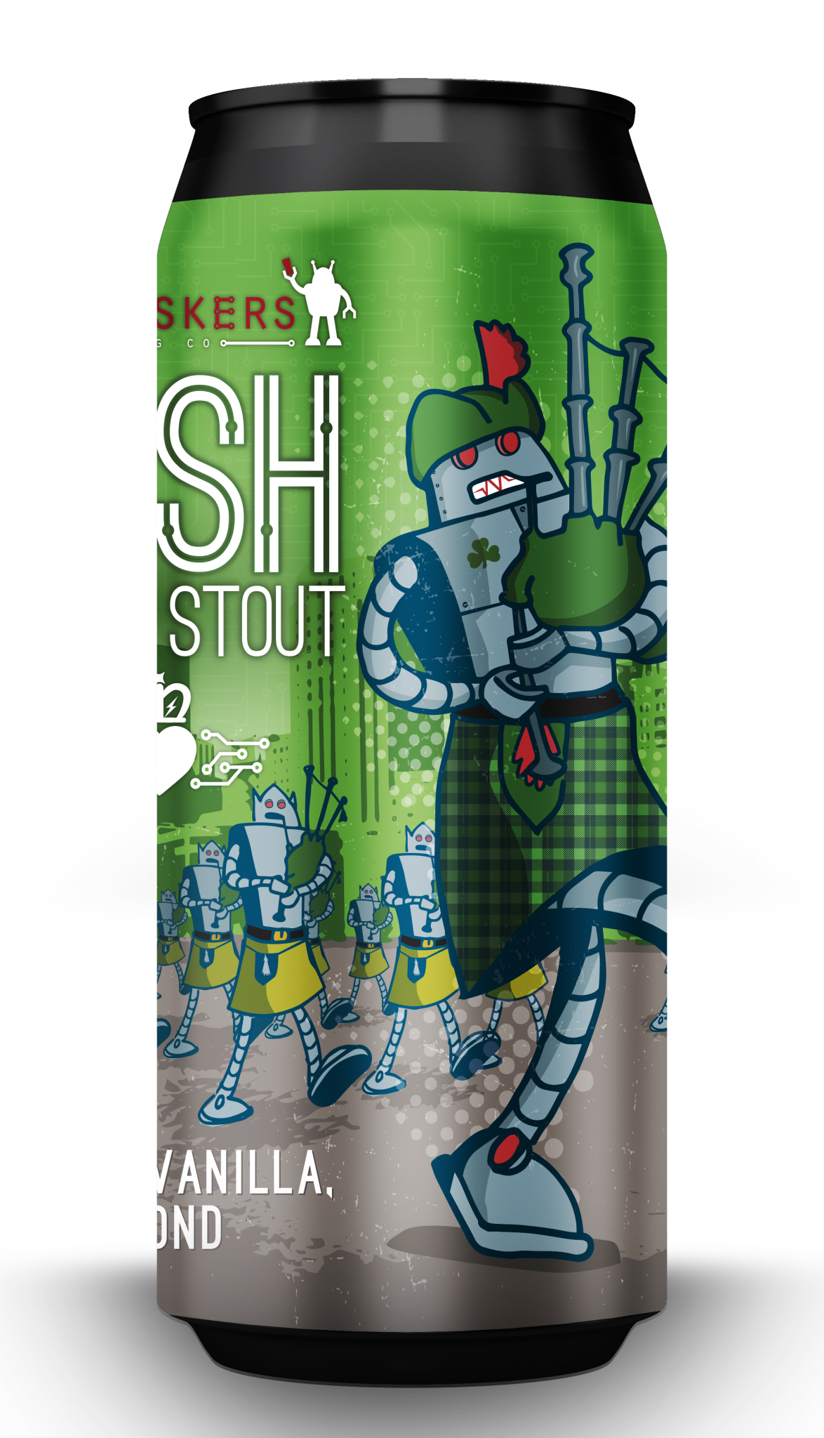 Tin Whiskers Brewing Company TIN WHISKERS IRISH CREAM STOUT 4 PK CANS