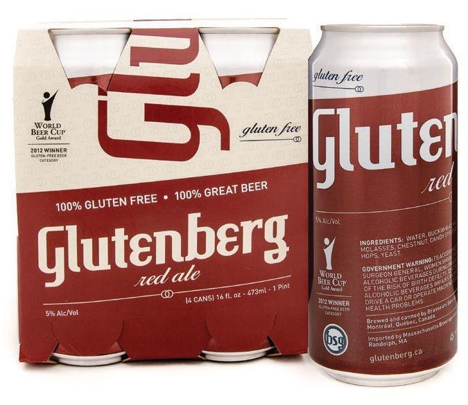 Glutenberg GLUTENBERG RED ALE 4 PK CAN