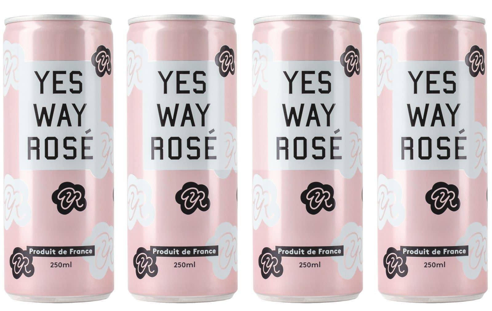 YES WAY ROSE 4 PK CANS