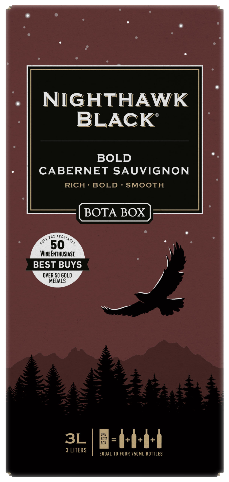 BOTA BOX NIGHTHAWK CABERNET SAUVIGNON 3 LITER BOX