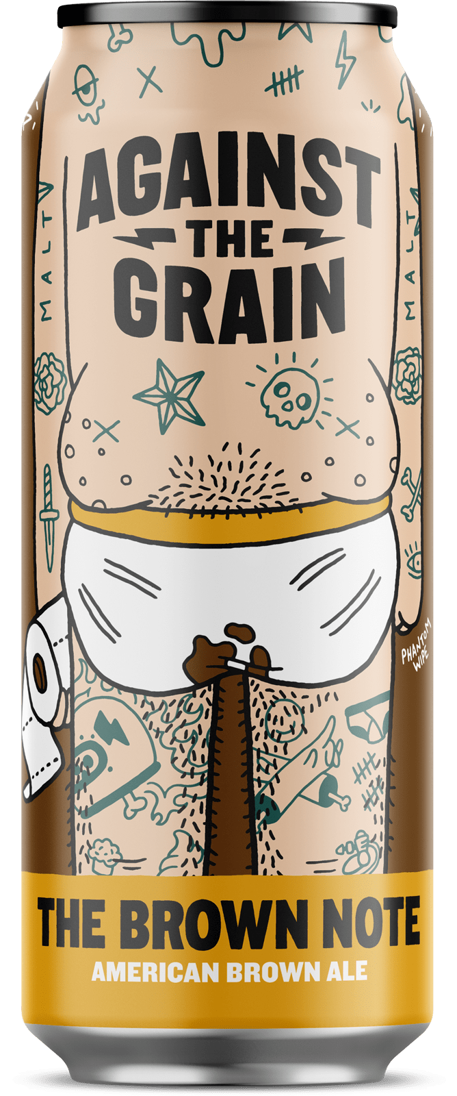 Against the Grain AGAINST THE GRAIN BROWN NOTE BROWN ALE 4 PK CANS
