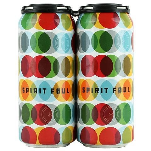 Fair State Brewing Cooperative FAIR STATE BREWING SPIRIT FOUL HAZY IPA 4 PK CANS