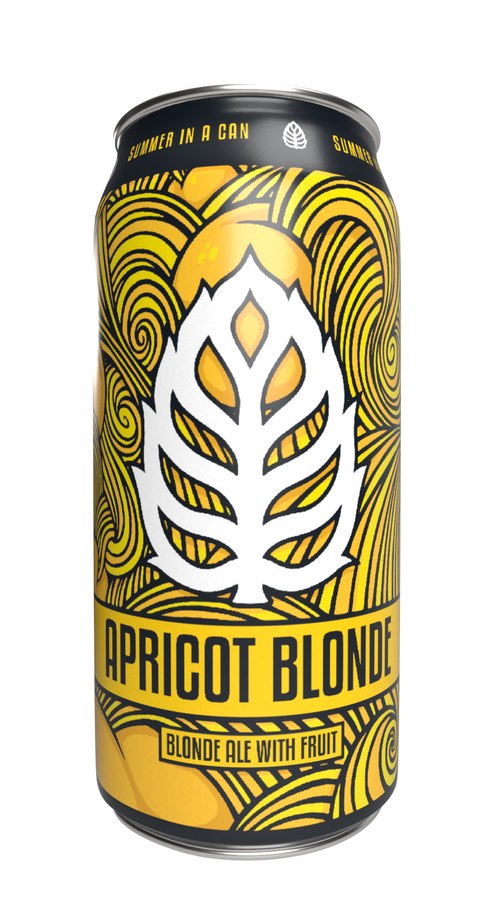 Lupulin Brewing Company LUPULIN BREWING APRICOT BLONDE ALE 4 PK CANS
