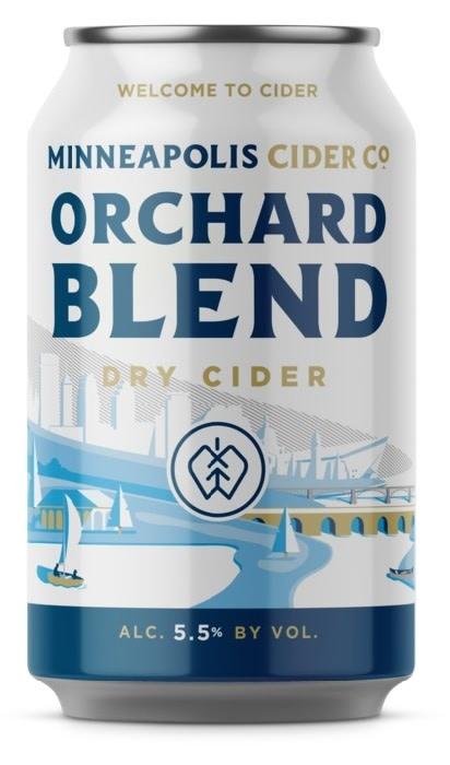 Minneapolis Cider Co. MINNEAPOLIS CIDER CO. ORCHARD BLEND DRY CIDER 4 PK CANS
