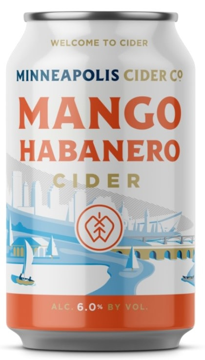 Minneapolis Cider Co. MINNEAPOLIS CIDER CO. MANGO HABANERO CIDER 4 PK CANS