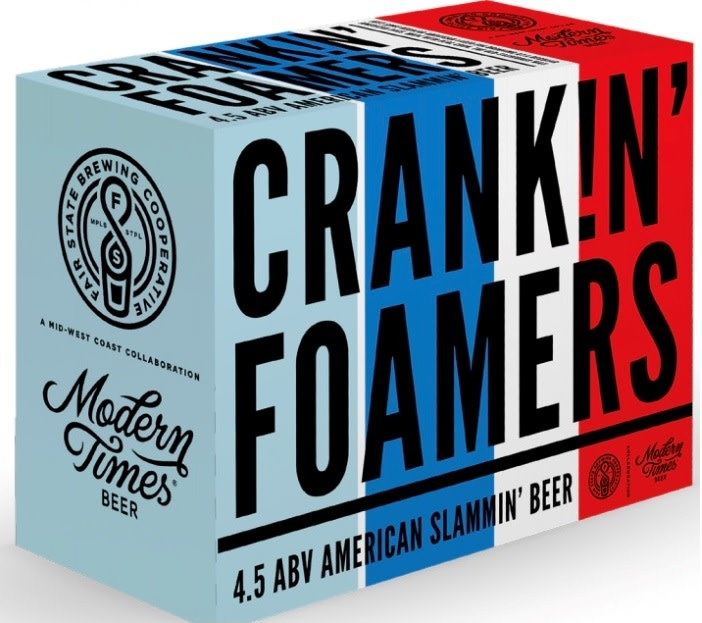 Fair State Brewing Cooperative FAIR STATE BREWING CRANKIN FOAMERS LAGER 12 PK CANS