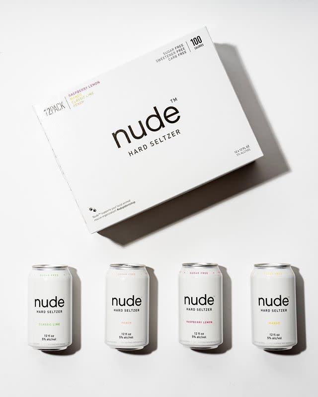Nude Hard Seltzer NUDE HARD SELTZER VARIETY 12 PK CANS