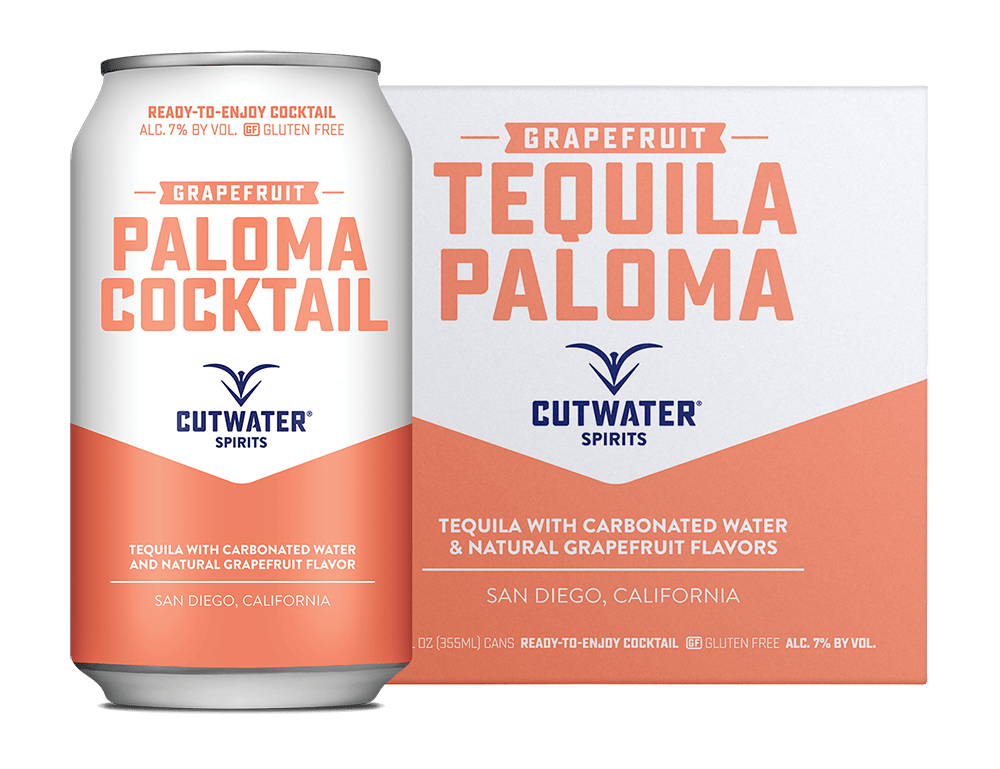 CUTWATER TEQUILA PALOMA 4 PK CAN