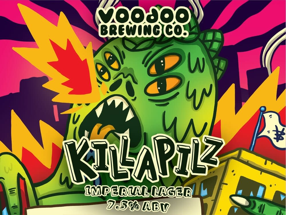 Voodoo Brewery VOODOO BREWERY KILLAPILLZ IMPERIAL LAGER 4 PK CANS