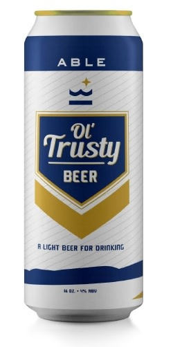 Able Seedhouse + Brewery ABLE SEEDHOUSE + BREWERY OL TRUSTY LIGHT BLONDE 12 PK CANS