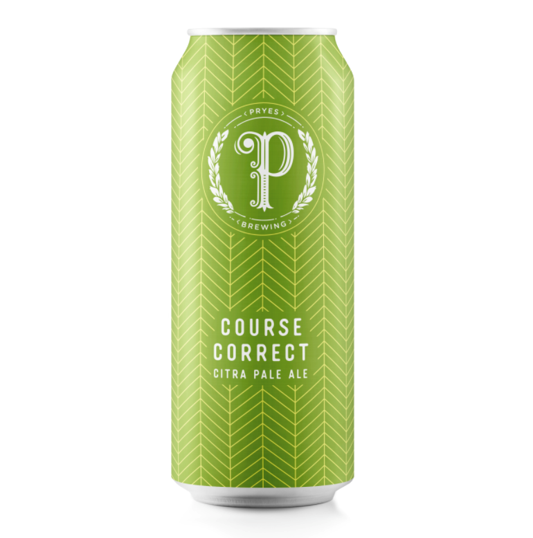 Pryes Brewing PRYES BREWING COURSE CORRECT CITRA PALE ALE 4 PK CANS
