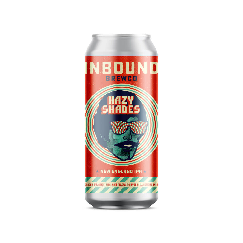 Inbound BrewCo. INBOUND BREWING HAZY SHADES IPA 4 PK CANS