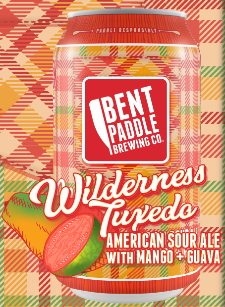 Bent Paddle Brewing Co. BENT PADDLE BREWING WILDERNESS TUXEDO MANGO AND GUAVA SOUR ALE 6 PK CANS