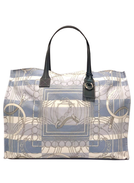 TOTE BAG: VENEZIA: BLUE