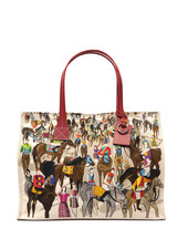 TOTE BAG SMALL: AFTER THE RACE: MULTI