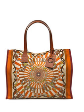TOTE BAG SMALL: FIRENZE: ORANGE