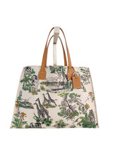 TOTE BAG SMALL: SAFARI: LIME