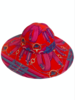 PRINTED BIG HAT:  STIRRUPS: TWILIGHTBLUE