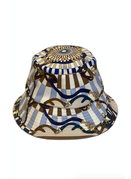 BUCKET HAT:  FIRENZE: BLUE