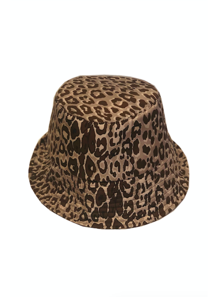 BUCKET HAT:  LEO: BEIGE