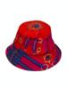 PRINTED BUCKET HAT:  STIRRUPS: TWILIGHTBLUE - Copy