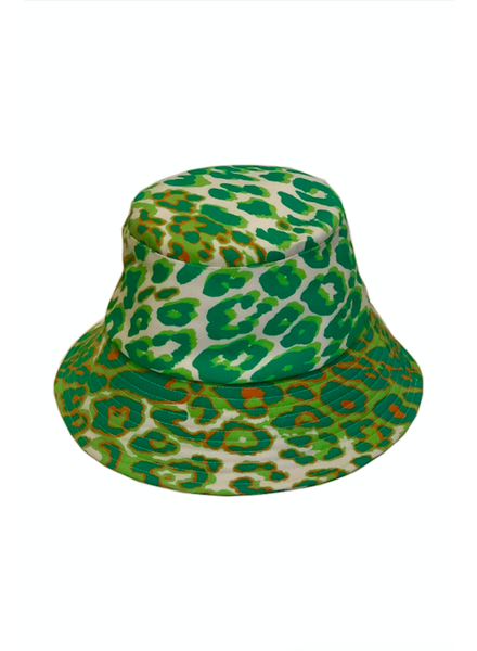 BUCKET HAT:  LEO: GREEN