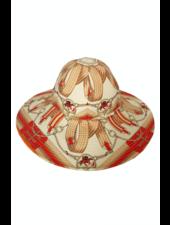 BIG HAT:  STIRRUPS: ORANGE