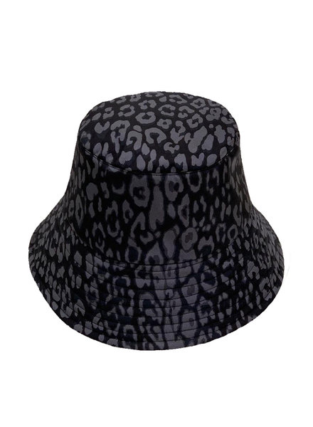 BUCKET HAT:  LEO: BLACK